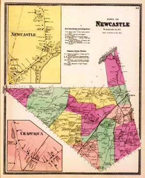 Beers Atlas Map of New Castle 1868