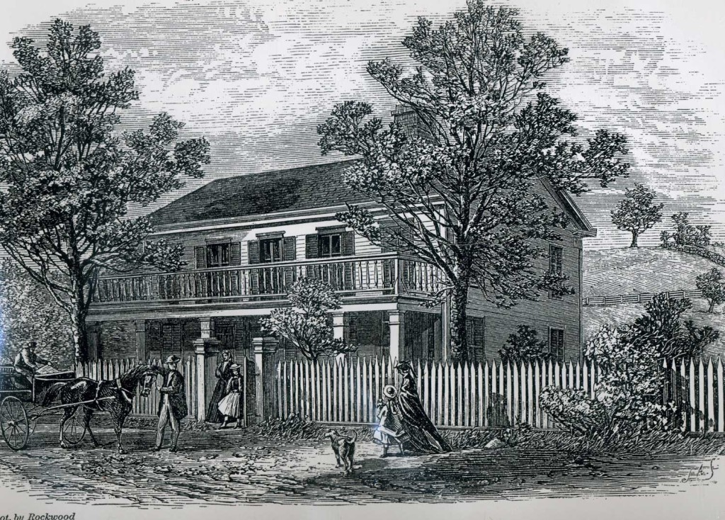 The Horace Greeley House 1872