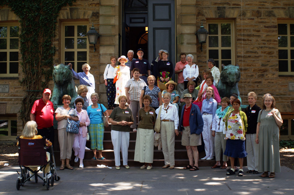 Members enjoyed a trip to Princeton University.
