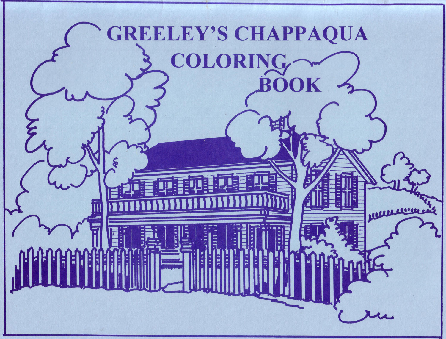 Greeley's-Chappaqua-coloring-book---front-cover