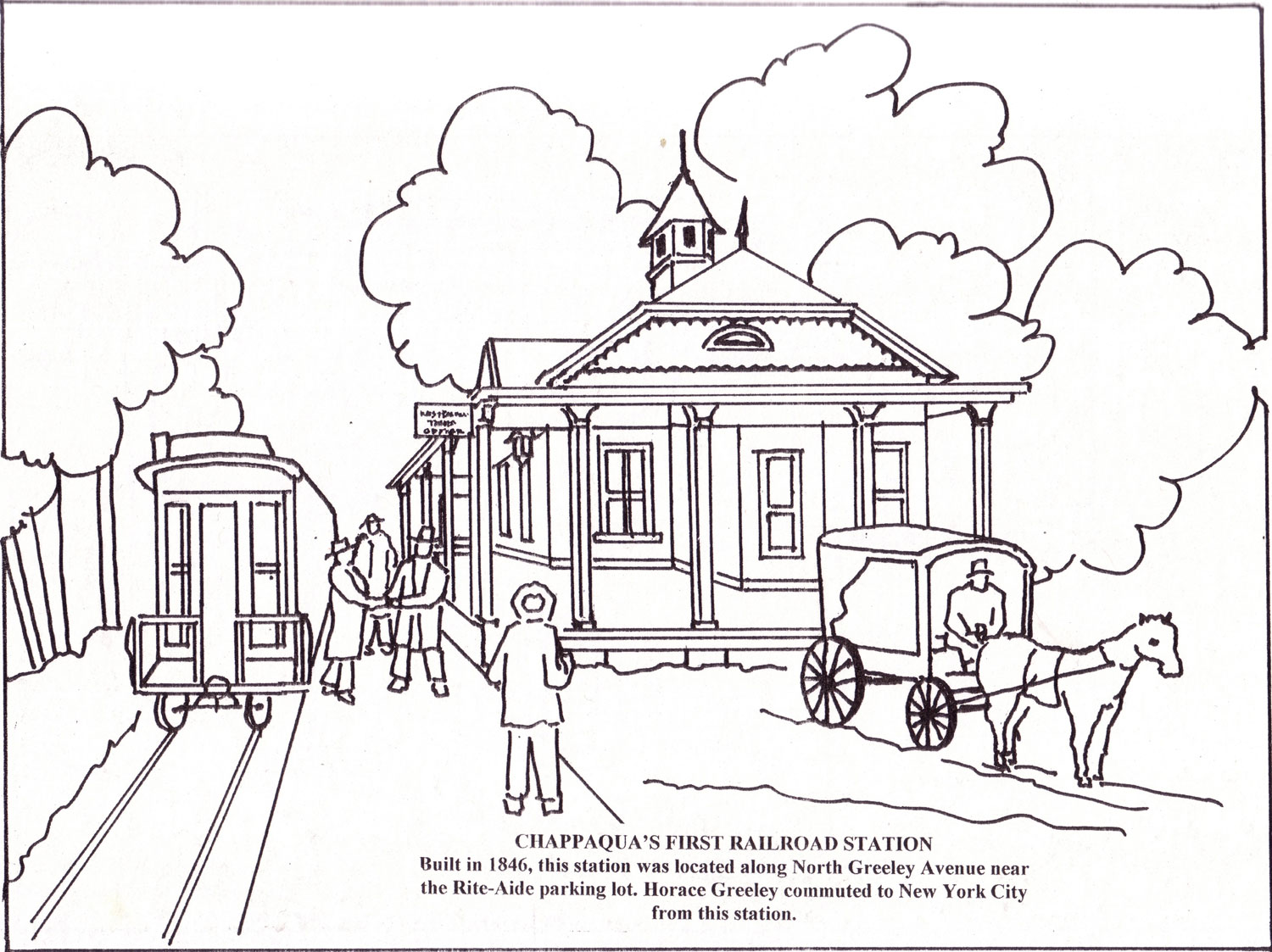 greeley u0027s chappaqua coloring book u2013 new castle historical society