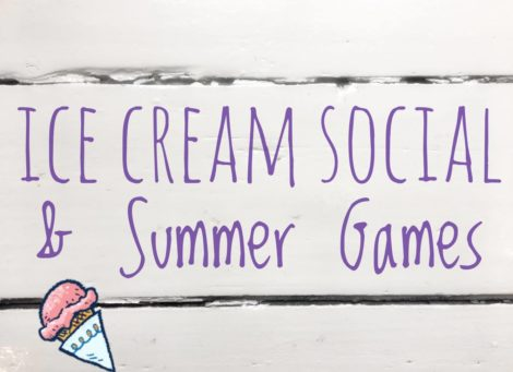 Ice Cream Social & Summer Games