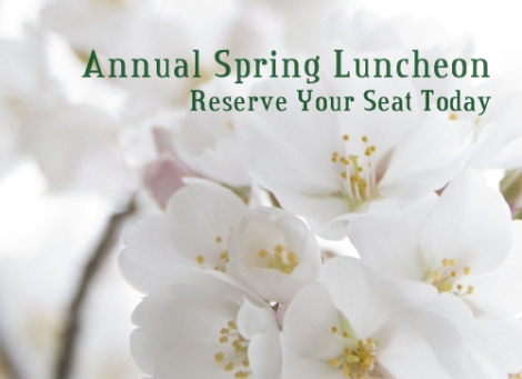Annual Spring Luncheon - May 1, 2015