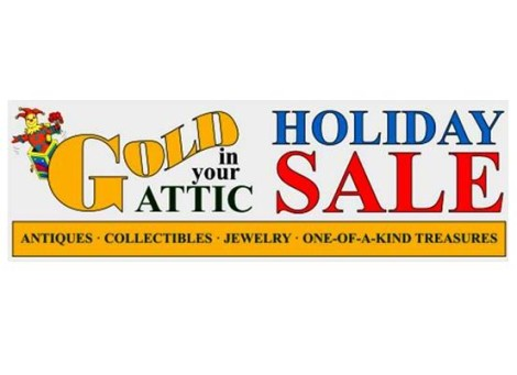 """Gold in Your Attic"" Special Holiday Sale"