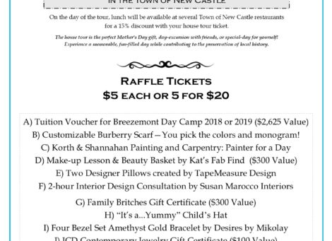 HOUSE TOUR RAFFLE