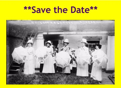 A Party in Greeley's Garden: Celebrating 100 Years of Women's Suffrage in New York State