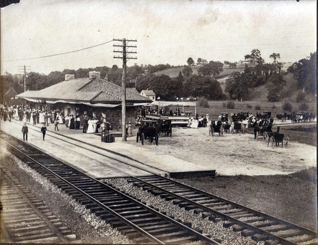 dedication-of-new-chappaqua-rr-station-sepia-june-1902