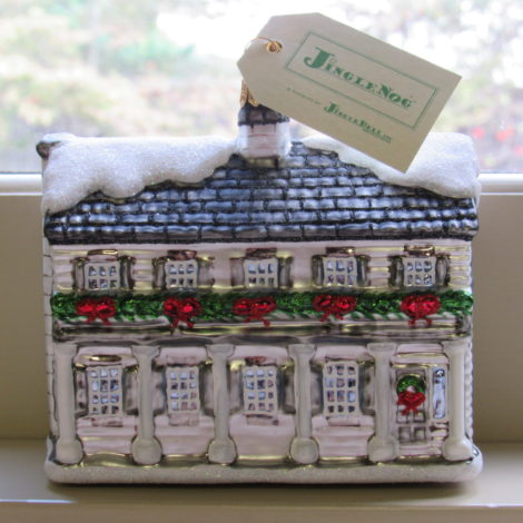 Horace Greeley House Ornament
